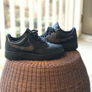 KUSTOM Air Force 1's Velcro x LV
